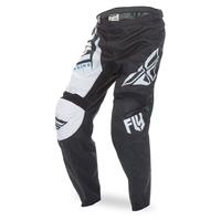 "Pantalon FLY RACING F-16 black/white ""Junior"" 2017"