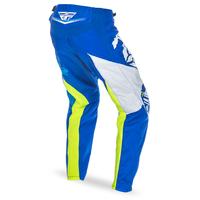 "Pantalon FLY RACING F-16 blue/hi-vision ""Junior"" 2017"