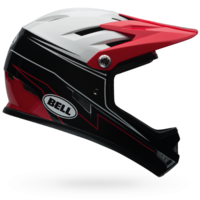 Casque BELL Sanction graphite rouge