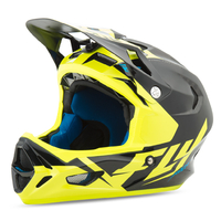 Casque FLY RACING Werx ultra black/yellow