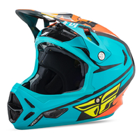 Casque FLY RACING Werx Mips teal/orange/black
