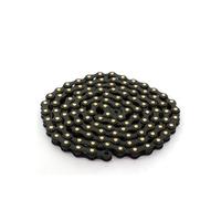 Chaine IZUMI Jet black black gold