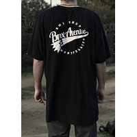 Tee shirt BMX AVENUE logo black