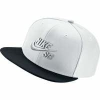 Casquette NIKE SB Icon white/black