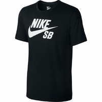 Tee shirt NIKE SB Logo black/white