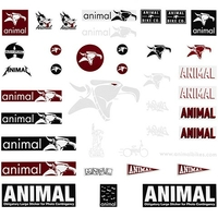 Stickers ANIMAL pack 38 pc