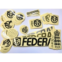 Stickers FEDERAL pack 39pc