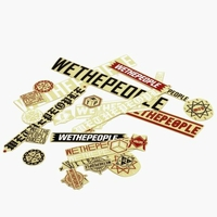 Stickers WETHEPEOPLE  pack15 pc