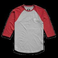 Tee shirt ETNIES Baseline Raglan grey