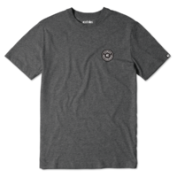 Tee shirt ETNIES Core Patch charcoal