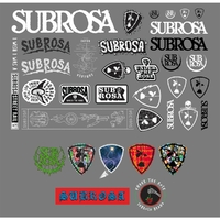 Stickers SUBROSA pack 2017
