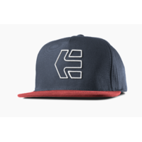 Casquette ETNIES Icon snapback red/navy