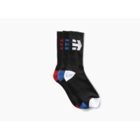 Chaussettes ETNIES Direct socks black (3 paires)