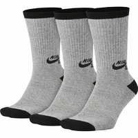 Chaussettes NIKE SB 3PPK Grey heather/black (pack de 3 paires)