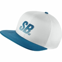 Casquette NIKE SB Fade Dry hat white/blue