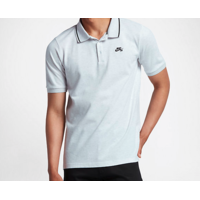 Polo NIKE SB Pique Dri FIT grey heather/black
