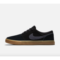 Shoes NIKE SB Portmore II Solar beige black/dark grey