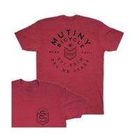 Tee shirt MUTINY  Labor II Cardinal