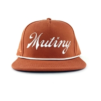 Casquette MUTINY Second String orange