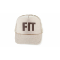 Casquette FITBIKE Co Trucker hat kaki