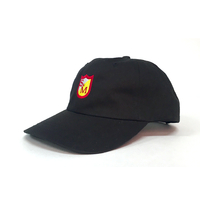 Casquette S&M Dad hat black