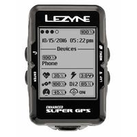GPS LEZYNE Super HRSC + Cardio