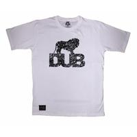 Tee shirt DUB BMX 3M Splatter white