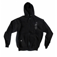 Zipper capuche SUBROSA Flamingo black