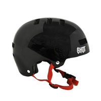 Casque SHOT Solid black/red