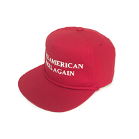 Casquette S&M Trumped red