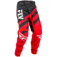 "Pantalon FLY RACING F-16 red/black ""junior"" 2018"