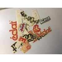 Stickers ECLAT pack 39pc