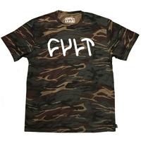 Tee shirt CULT Logo camo