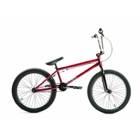 "Bmx UNITED Supreme 20.25"" trans red 2018"