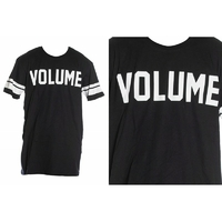 Tee shirt VOLUME Jersey black
