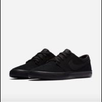 Shoes NIKE SB Portmore II Solar black/black