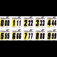 Numéro de plaque à numéros FORWARD X3