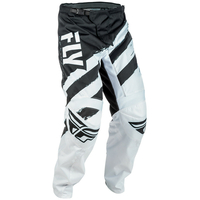 "Pantalon FLY RACING F-16 white/black ""junior"" 2018"
