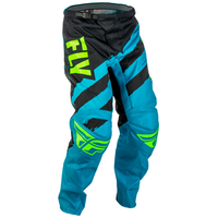 "Pantalon FLY RACING F-16 blue/black ""junior"" 2018"