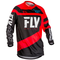 "Maillot FLY RACING F-16 red/black ""Junior"" 2018"