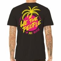Tee shirt WETHEPEOPLE Miami black WTP X Fluor Collab