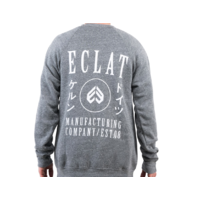 Sweat crew ECLAT Circle Icon Heather grey