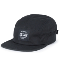 Casquette ECLAT MFG Compagny 5 panel black