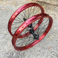 Paire de roues SHADOW custom red