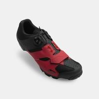 Shoes GIRO Cylinder dark red/black