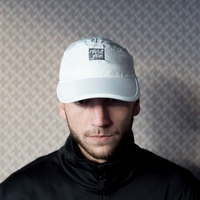 Casquette MARIE JADE 7 panels white