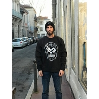 Sweat BMX AVENUE crew Skull