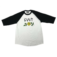 Tee shirt CULT In Bloom manche 3/4