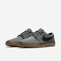 Shoes NIKE SB Solarsoft Portmore II canvas dark grey/black gum