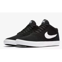 Shoes NIKE SB Solarsoft Portmore II mid black/white